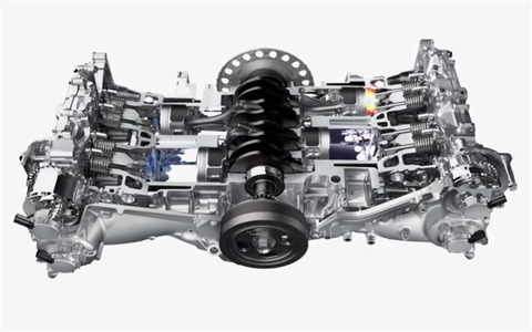 スバル車の水平対向エンジンの魅力って何なの? 乗り物速報
