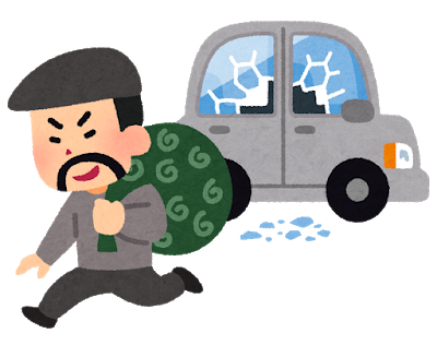 札幌で連続車上荒らし9件相次ぎレーダー探知機などが盗まれる