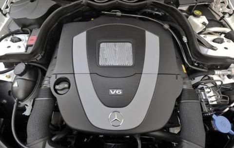 2012-Mercedes-E350-Cabriolet-v6-engine