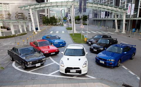 Nissan_skyline_1971-2012