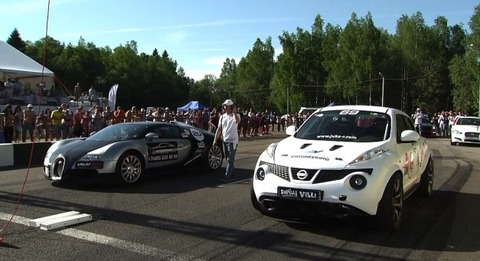 Bugatti-Veyron-vs-Nissan-Juke-R-Drag-Race-Video-627x341