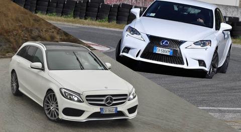 Lexus-IS-300h-vs-Mercedes-Benz-C-300-Hybrid