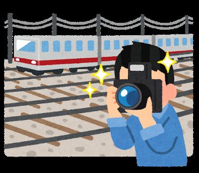 【悲報】撮り鉄さん、電車を止めてしまう・・・