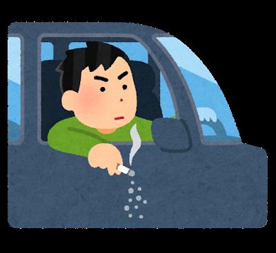 【疑問】車の窓からタバコ投げ捨てる生ゴミ爺の車に「落としましたよ」ってタバコ投げ入れたら罪になる?
