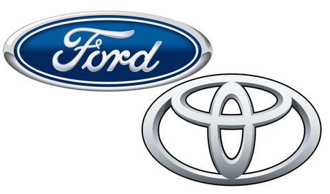 Ford-and-Toyota-logos