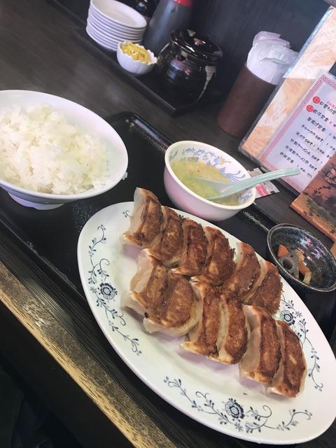 大阪京橋餃子