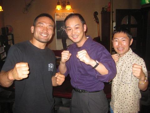 with Katsunori Kikuno, Yakan Nabe
