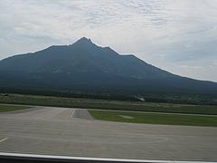 利尻島飛行