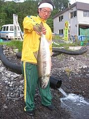 2010/8/20鮭釣り