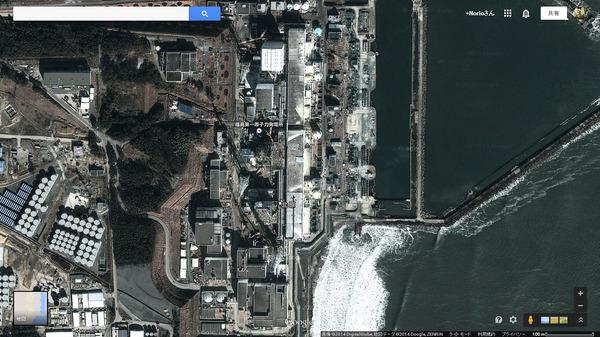 福島県の航空写真
