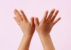 子どもの拍手
