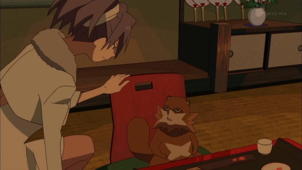 『有頂天家族2』1話 動画 感想 安定のP.A.アニメは2 …