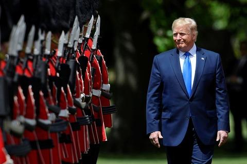 Trump in England