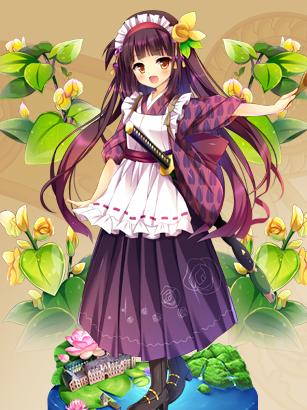 小豆花騎士の世界フラワーナイトガール