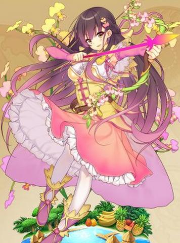 イオノシジウム 花騎士の世界