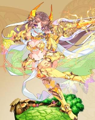 キリンソウ黄金の花騎士