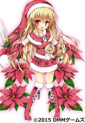 ポインセチア花騎士
