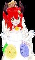 絆ドレス 豚姫