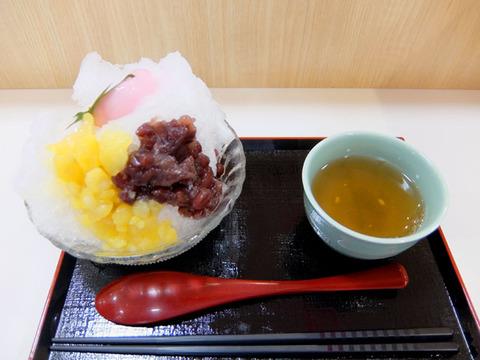 ぜんざい氷/出雲ぜんざい餅(JR名古屋タカシマヤ催事)