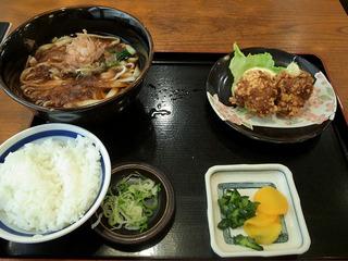きしめん定食/やぶ福(名古屋駅)