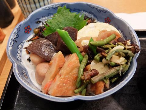 煮物定食/味のあとりえ まつなが(名古屋駅)