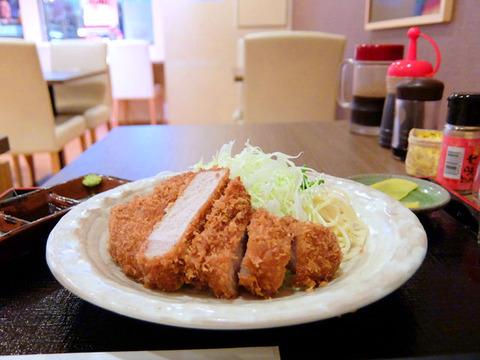 さくらポーク厚切りロースカツ定食/さくら亭(名古屋駅)