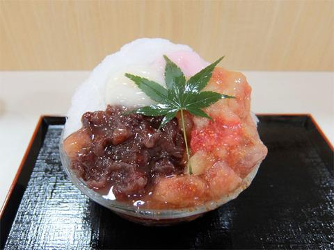 出雲いちじくぜんざい氷/出雲ぜんざい餅(JR名古屋タカシマヤ催事)