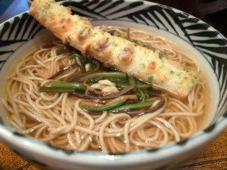 山菜そば/おらが蕎麦 名古屋名鉄イートインストリート店