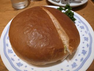 ハンバーガー/コメダ珈琲店ユニモール店(名古屋駅)