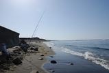 投げ釣り風景