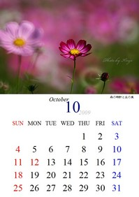 200910カレンダー