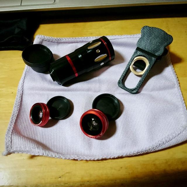 4in1 カメラレンズキット(ALLUCKER)