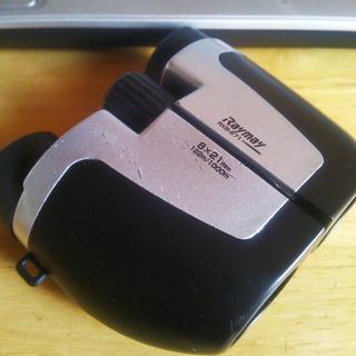 スマートフォン用望遠レンズがなかったので双眼鏡を利用して画像を撮ってみた(・ω・)。