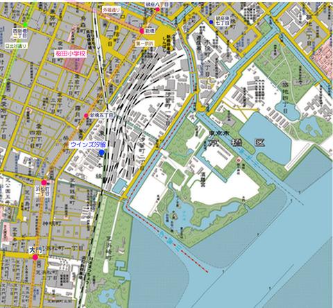 新橋地図d