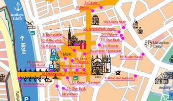 パン屋マップ マルクト広場周辺