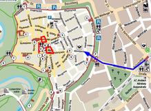 Rothenburg Stadtplan 01