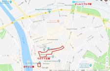 Wuerzburg Weihnachtsmarkt map