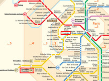 Paris Metro Map 01