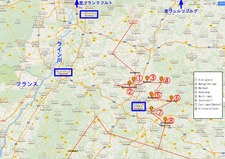Fachwerkstrasse map 001