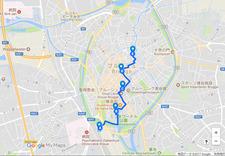 Brugge-map
