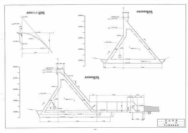 05 ダム標準断面図