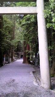 椿大神社入口