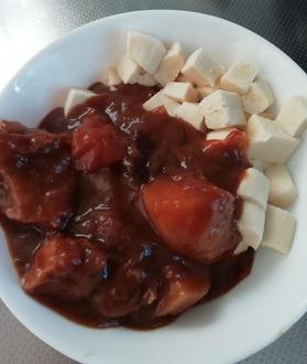 カレー高野豆腐