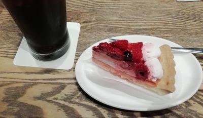 シメのケーキ