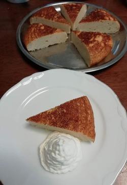 おからとヨーグルトのチーズケーキ風