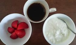 イチゴとヨーグルト