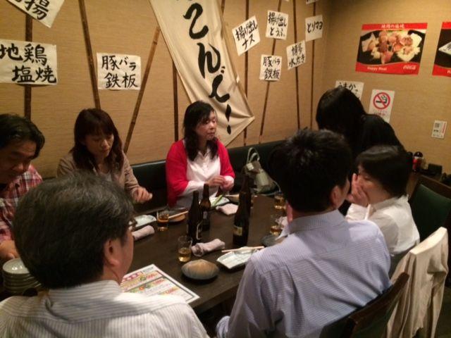 左テーブル@懇親会