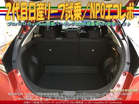 2代目日産リーフ試乗/NPOエコレボ画像