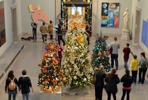 クリスマスの美術館