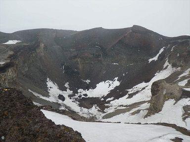 山頂は雪が降った(6月23日)30%